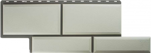 Фасадная панель Камень Флорентийский (белый)