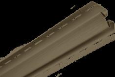 Планка внутренний угол Орех тёмный Т-13  -  3,00м