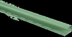 Планка J - trim фисташковая Т-15 - 3,00м