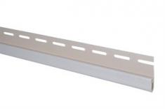 Сайдинг Планка финишная, 3000 мм, цвет Белый