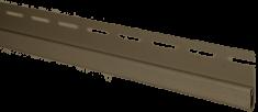 Планка финишная Орех тёмный Т-14  -  3000 мм