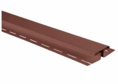 """Планка """"соединительная"""" красно-коричневая Т-18  -  3,00м. """"BH"""""""