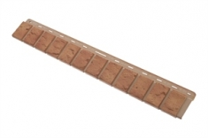 Облицовочная планка кирпич (бежевый), 0,92 х 0,125м,