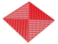 Решётка с дополнительным обрамлением, цвет Красный