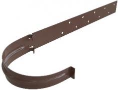 Кронштейн жёлоба Металл цвет коричневый