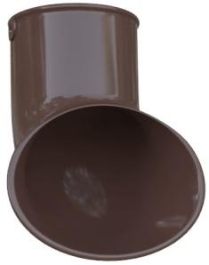 Слив трубы ПВХ, цвет Коричневый