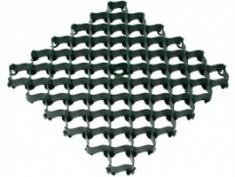 Решетка усиленная с высоким профилем 500х500х35 (зеленый)